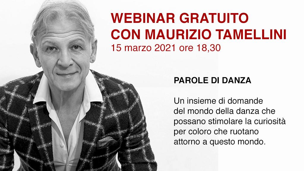 Webinar Gratuito con Maurizio Tamellini